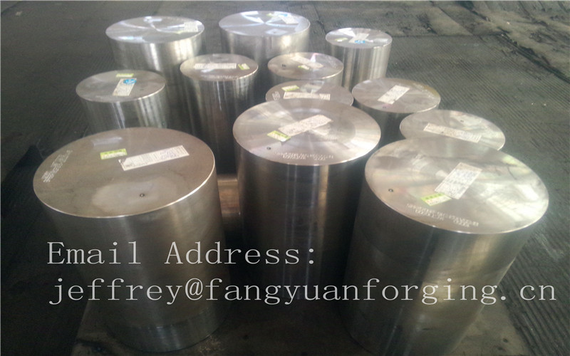 Martensitic Stainless Steel Forging Rings Forged Bar Heat Treatment Rough Turned F6A SUS410 SUS403 S40300 X6Cr17